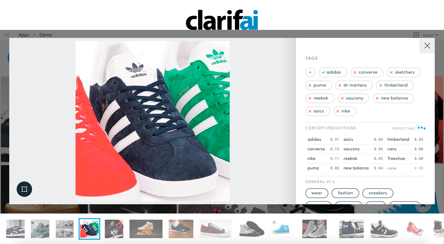 Clarifai raises $30M to give developers visual search capabilities |  TechCrunch