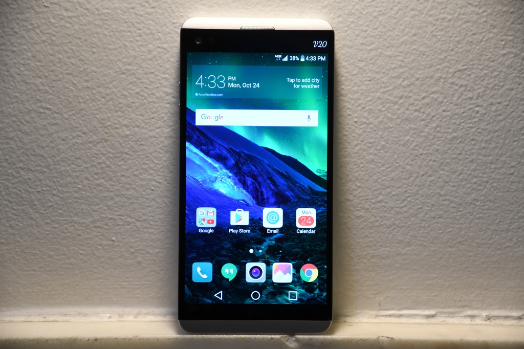 LG's V20 is a huge phone with two clever cameras   TechCrunch