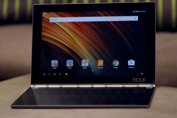 Lenovo S Yoga Book Is A Fascinating Attempt To Reinvent The Hybrid Tablet Techcrunch