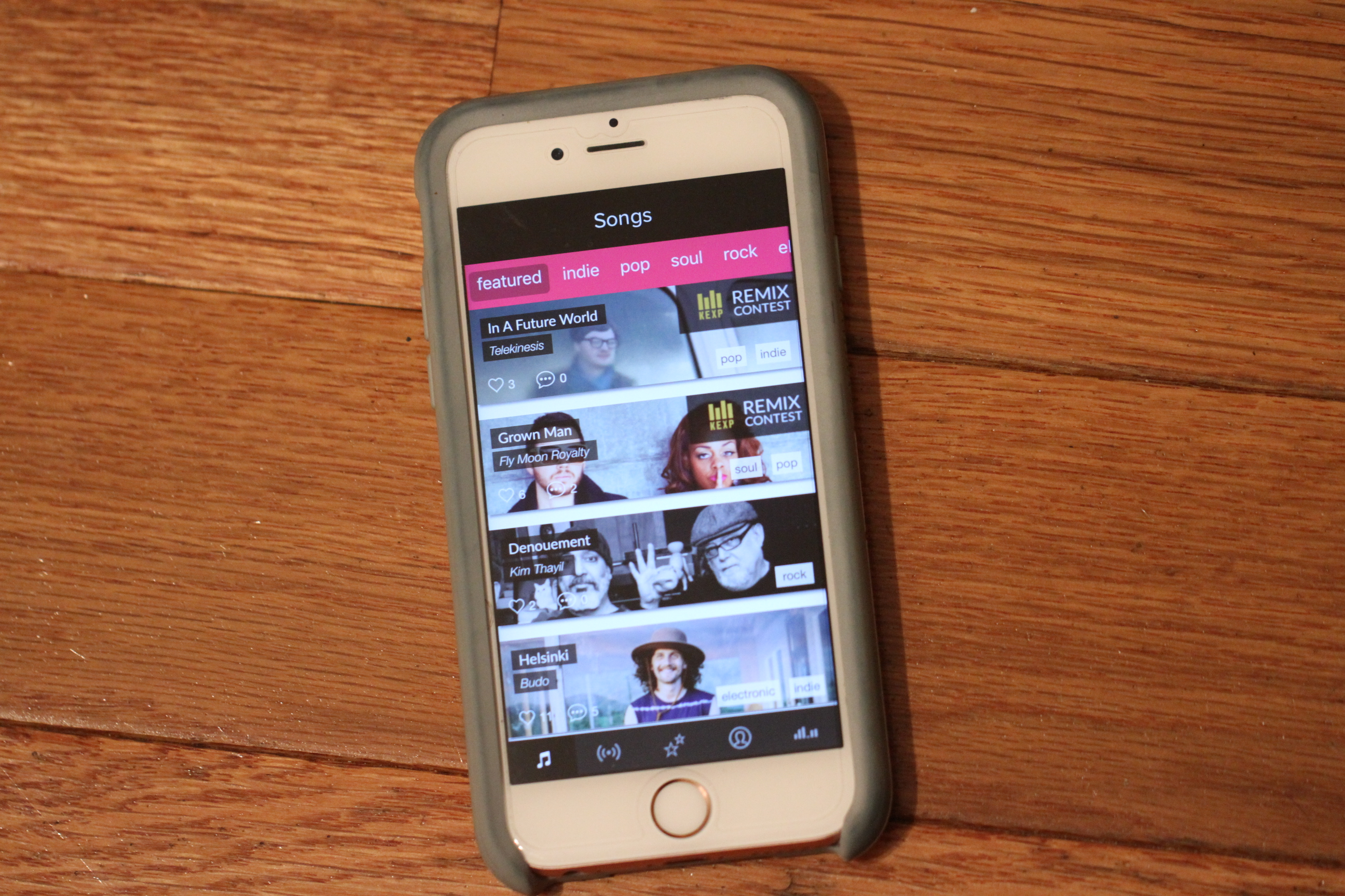 Sub Pop's founder launched a fun music remixing app | TechCrunch