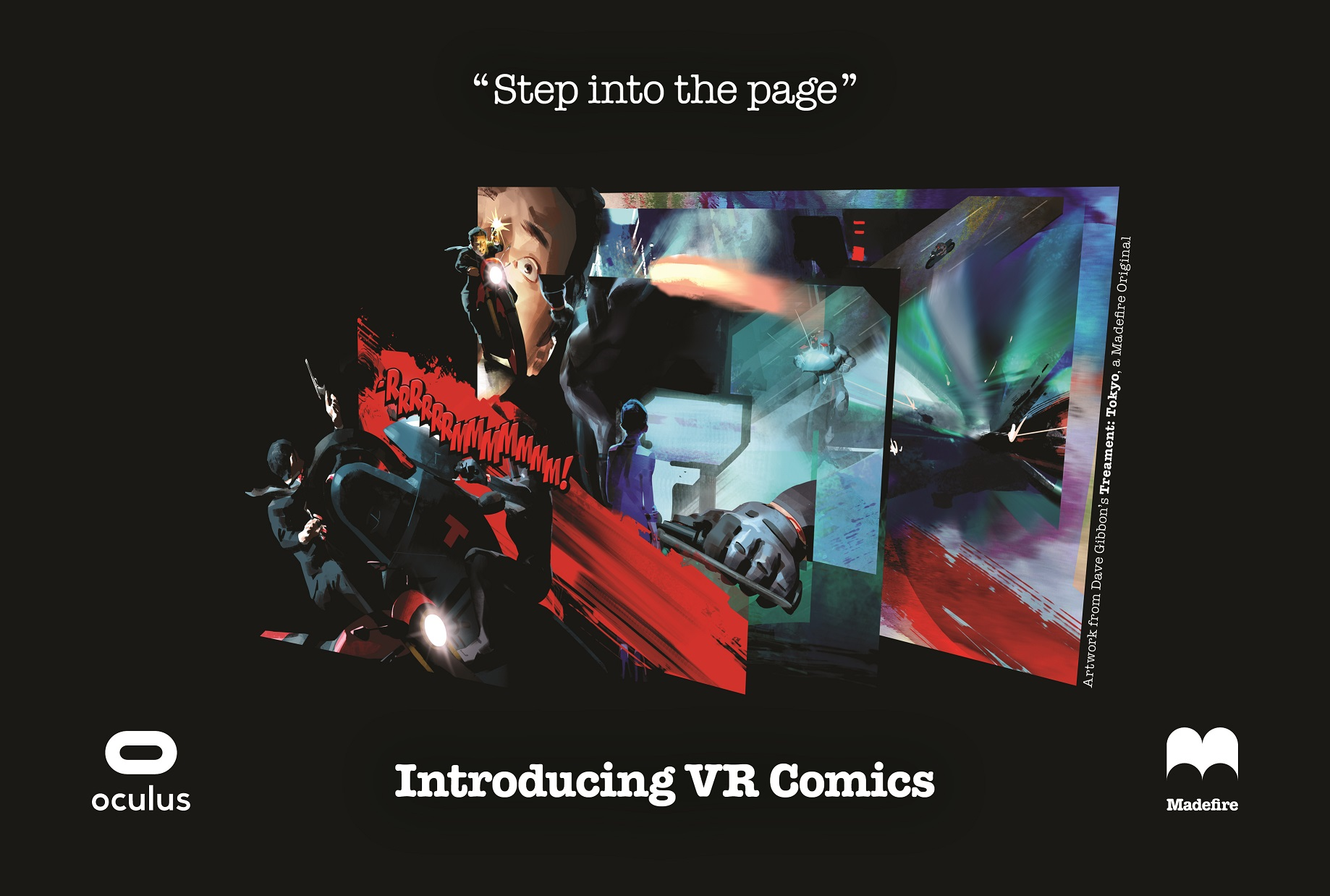 Digital comics startup Madefire launches its first virtual