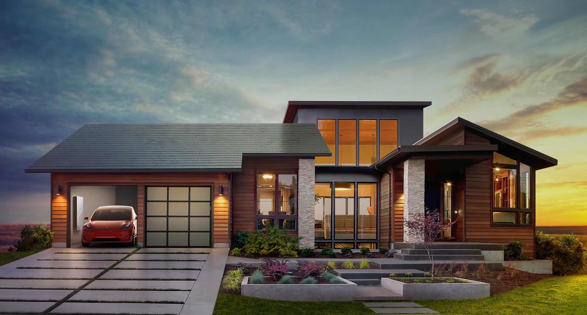Tesla House Battery >> Why Tesla S New Solar Roof Tiles And Home Battery Are Such A Big