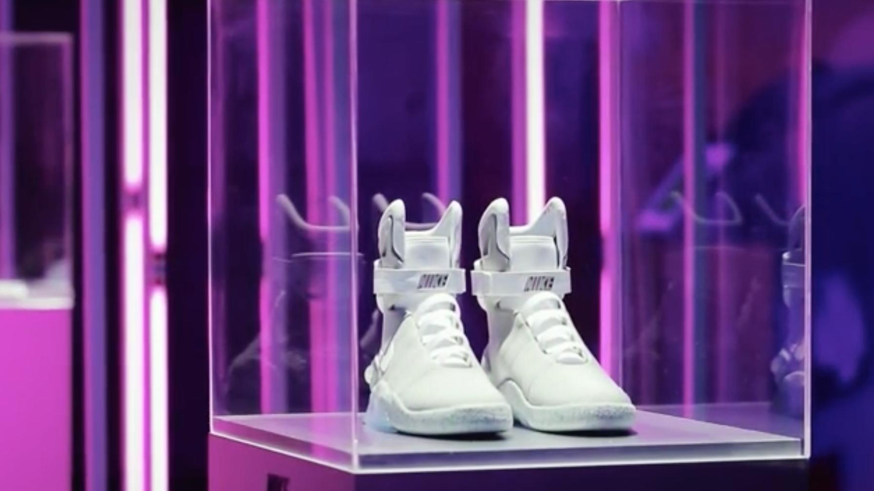The Nike Mag sneaker raffle raised $6