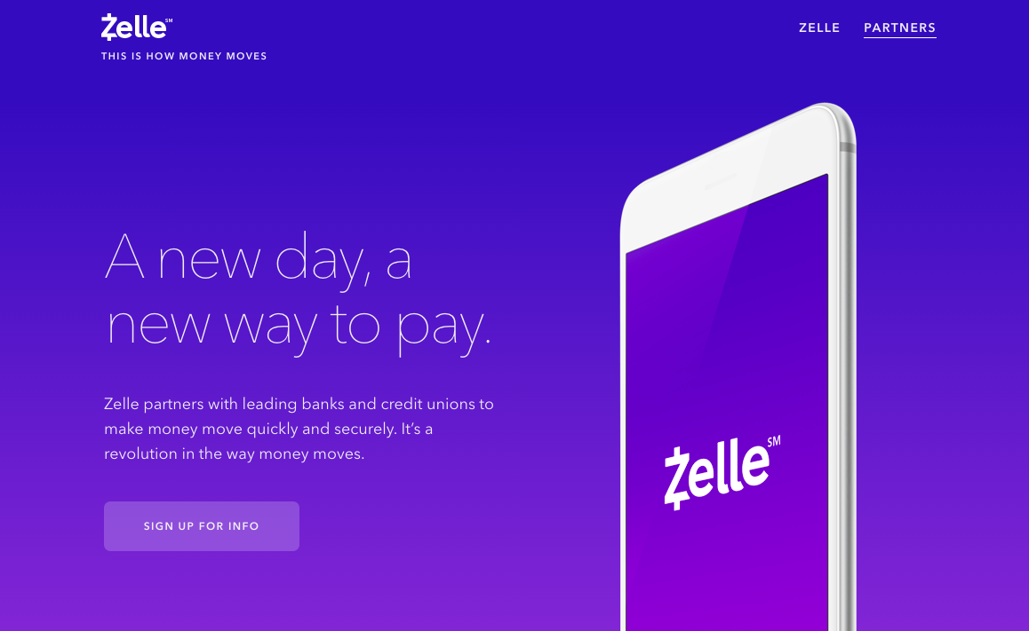 Zelle p2p payments push to compete with Venmo now has 19 US FI