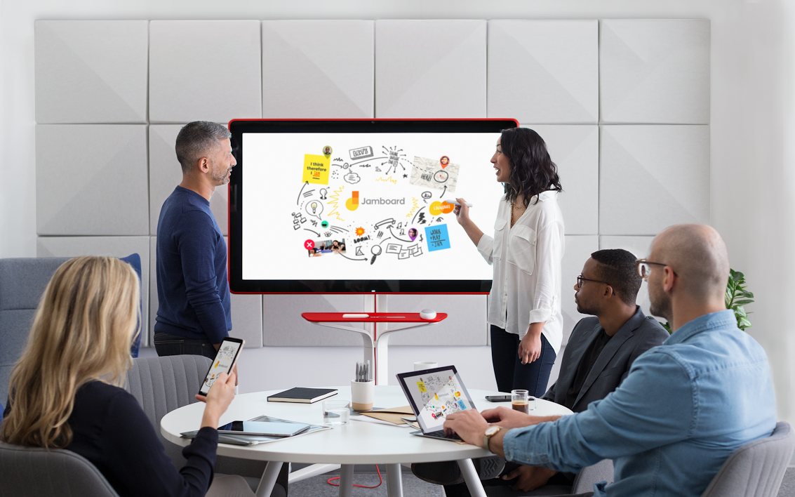 Google's Jamboard will cost $5,000, plus an annual management fee |  TechCrunch