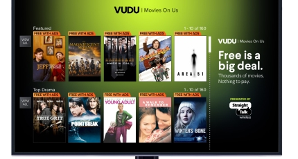 Walmart launches a free streaming service, Vudu Movies on Us