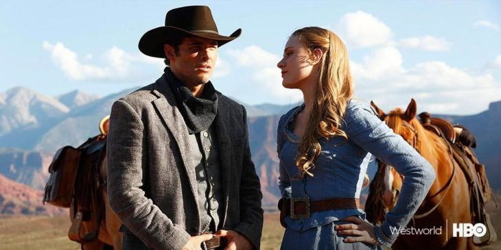 expectations are ridiculously high as westworld rides onto hbo tonight the first season cost a reported 100 million to make and it s being pitched in
