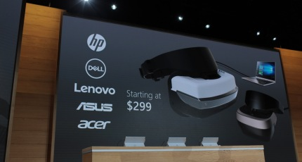HP, Dell, Lenovo, Asus and Acer will all ship VR headsets