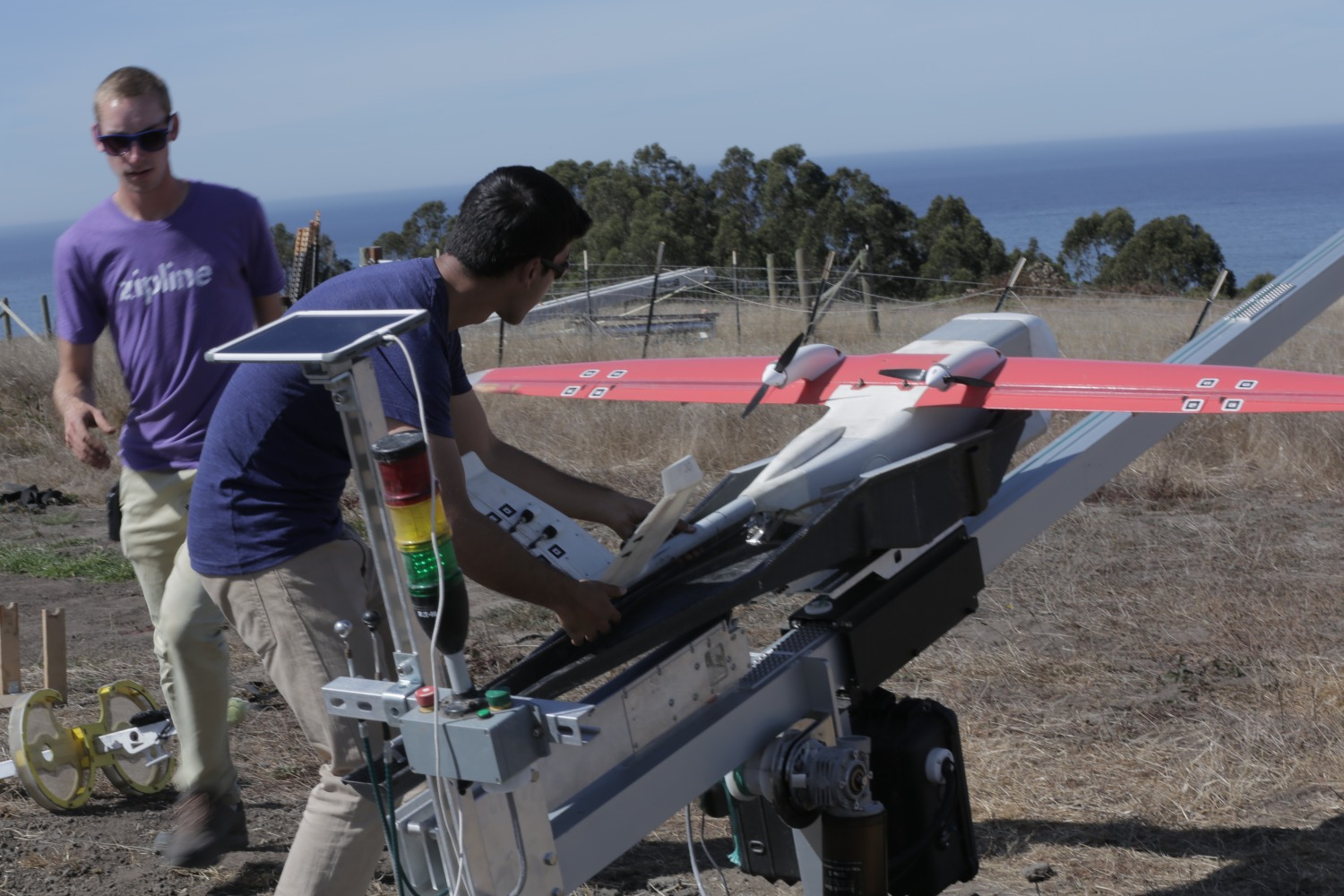 A Test Flight With Zipline Makers Of Humanitarian Delivery Drones