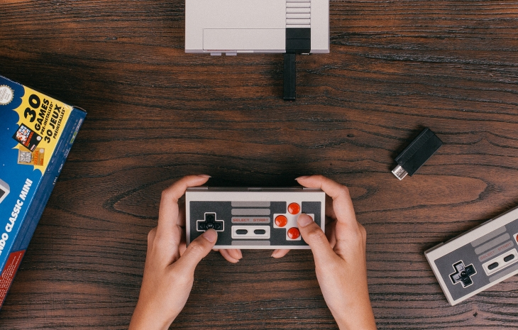 8Bitdo's NES Classic Edition wireless controller kit adds
