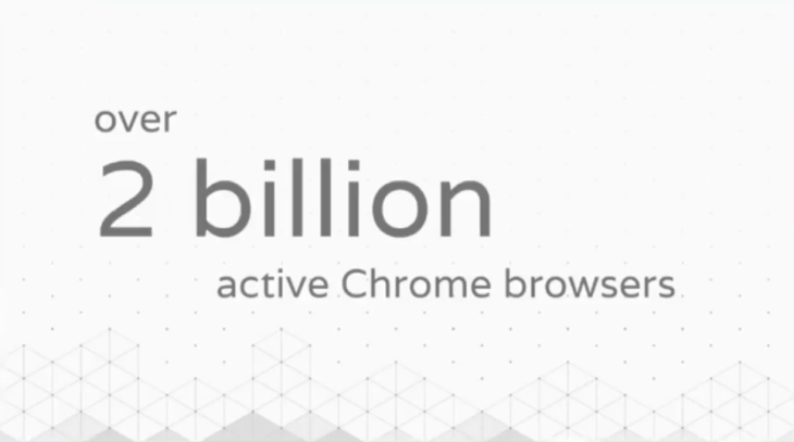 Google says there are now 2 billion active Chrome installs