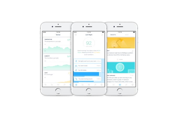 sense sleep tracker app