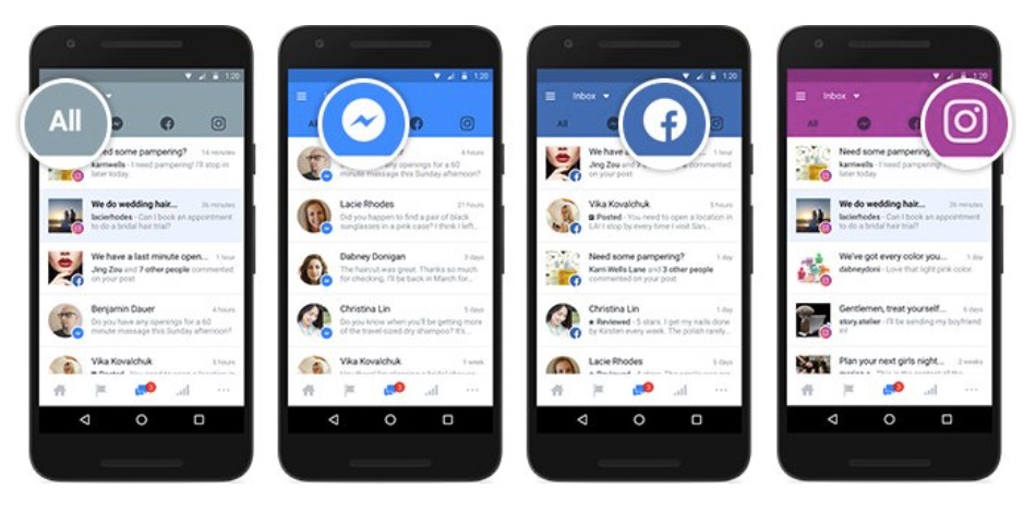 Facebook launches a unified inbox for businesses on Facebook