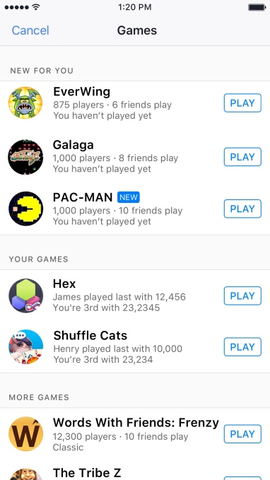 games-list-ios