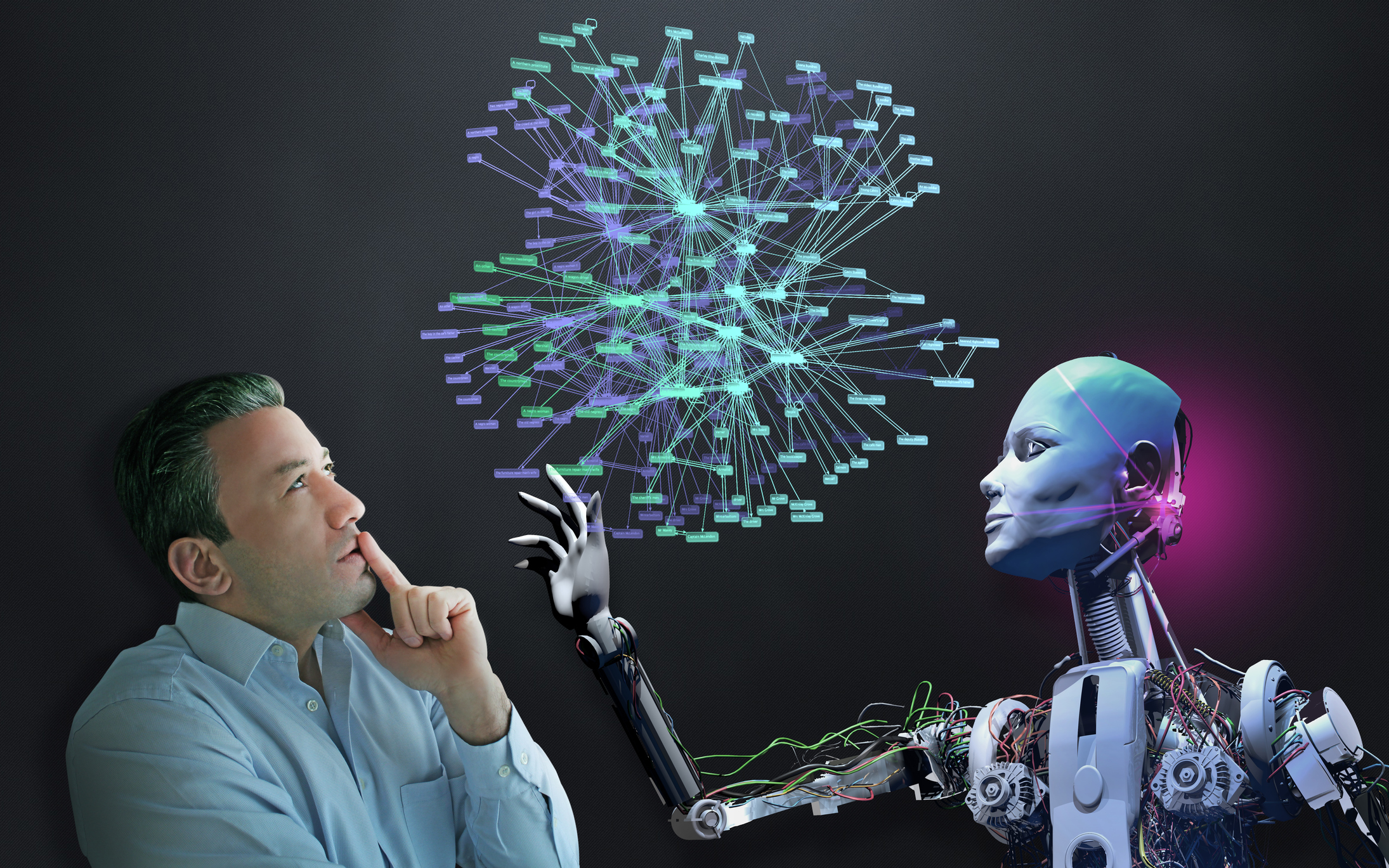 Norbert Wiener invented the field of cybernetics inspiring a generation of scientists to think of computer technology as a means to extend human capabilities