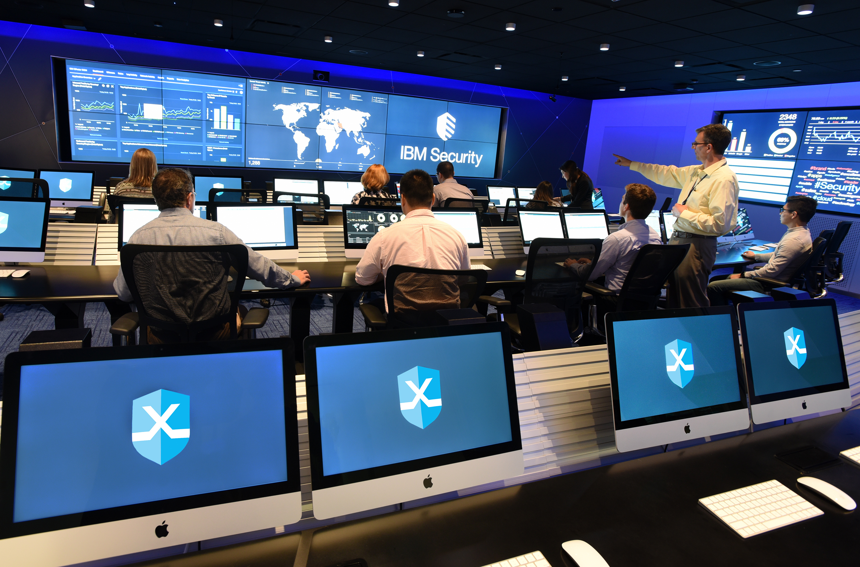 IBM opens new Cambridge, MA security headquarters with massive cyber