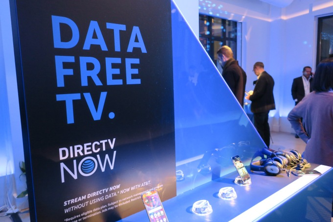 DirecTV Now event