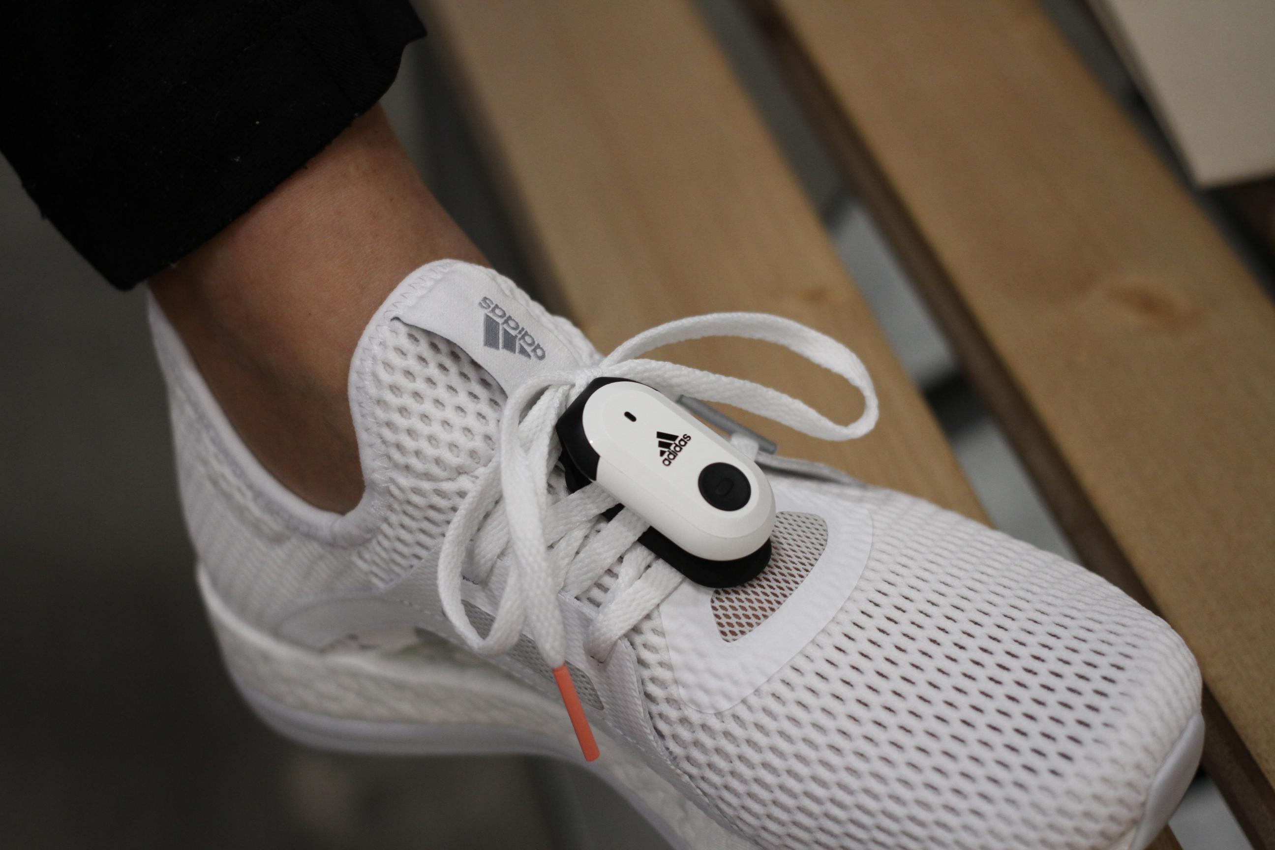 Adidas ofrecerá corredores con zapato usado sensores en el analisis de la marcha