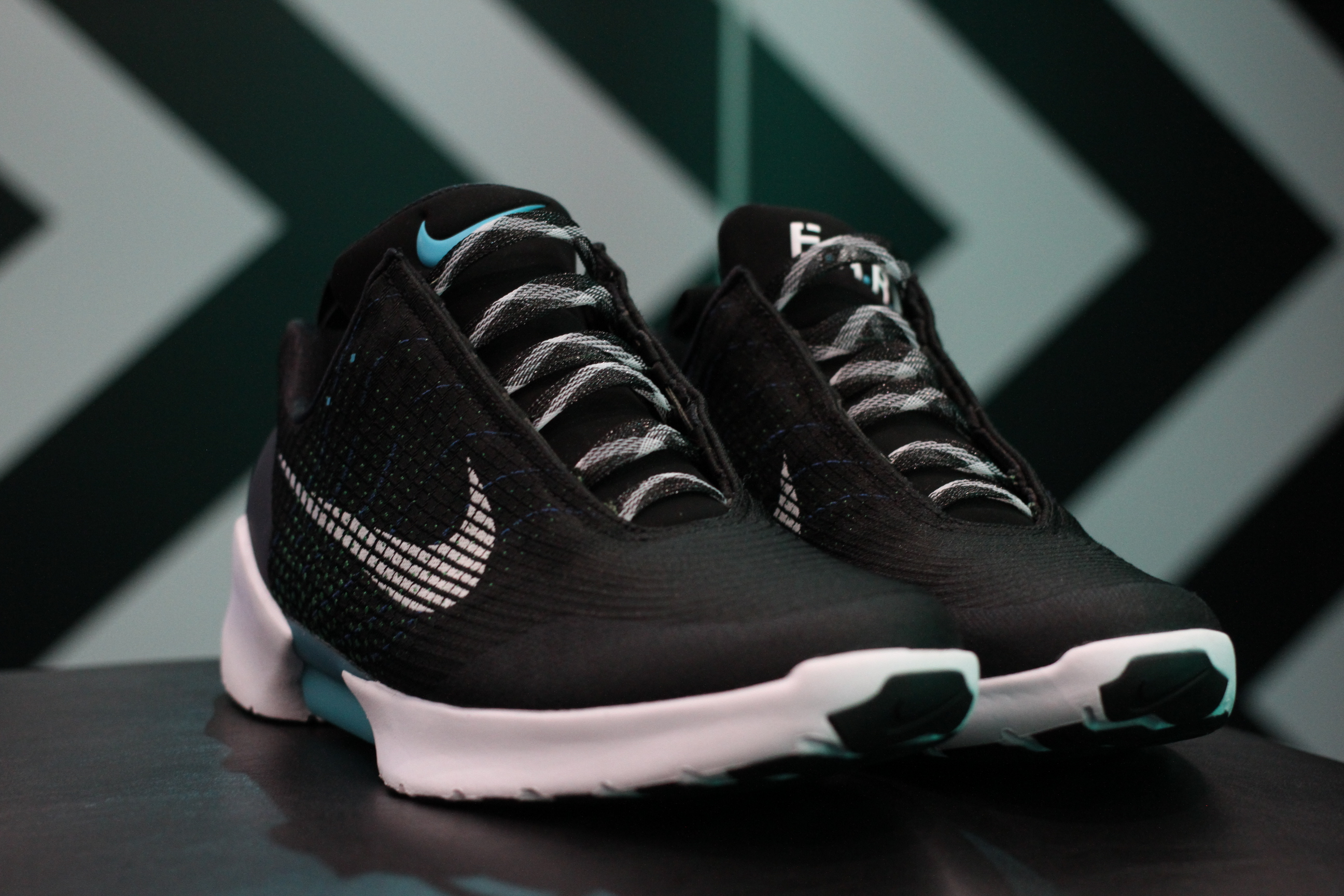 At $720, Version 1.0 of Nike's HyperAdapt self-tying shoes are for  sneakerheads. They're flashy and pricey, and while Nike isn't revealing  exact numbers, ...