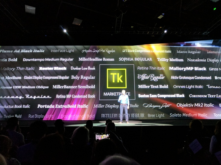 Adobe's Typekit subscription service now lets you buy