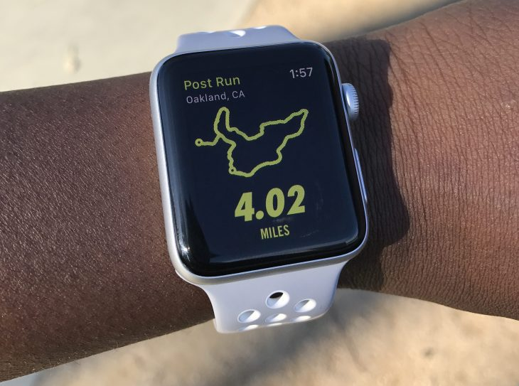 f48c0f604 Running with the Apple Watch Nike+