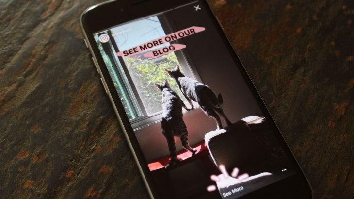 cb3818f5ea992 Instagram will now let creators add URL links