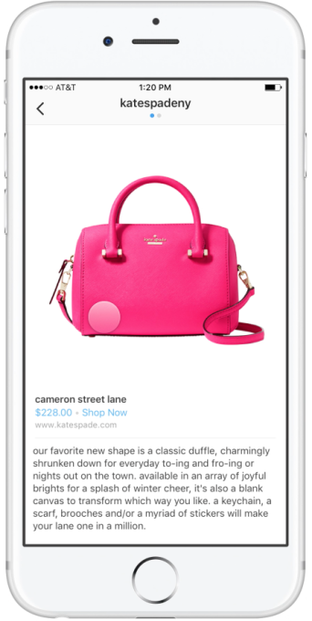 Instagram tests shoppable photo tags | TechCrunch