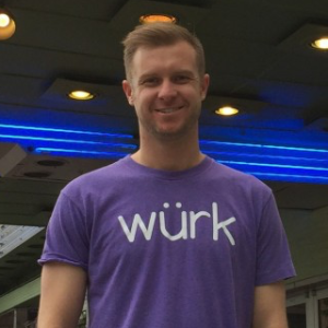 Keegan Peterson, CEO of Wurk.