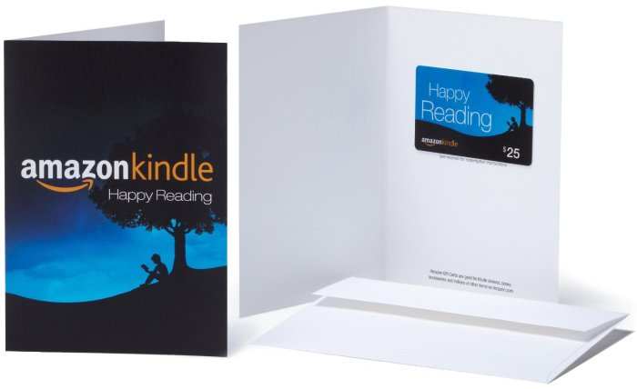 Gift Card For Kindle