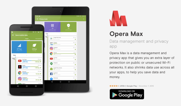 Opera Max update adds privacy tools but annoys some users