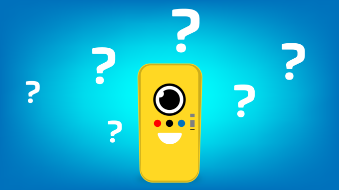 snapbot-question-marks
