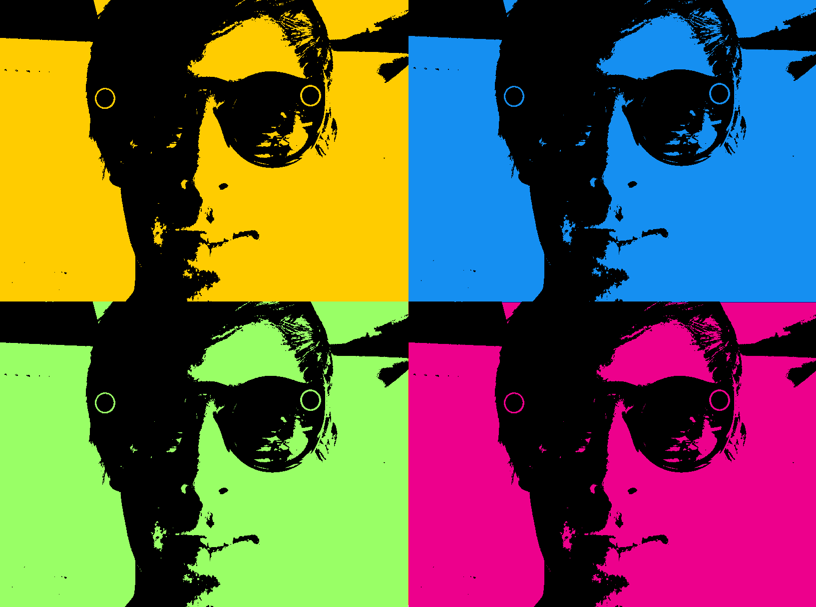 spectacles warhol