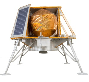 TeamIndus spacecraft (the rover will be carried inside this vehicle) / Image courtesy of TeamIndus