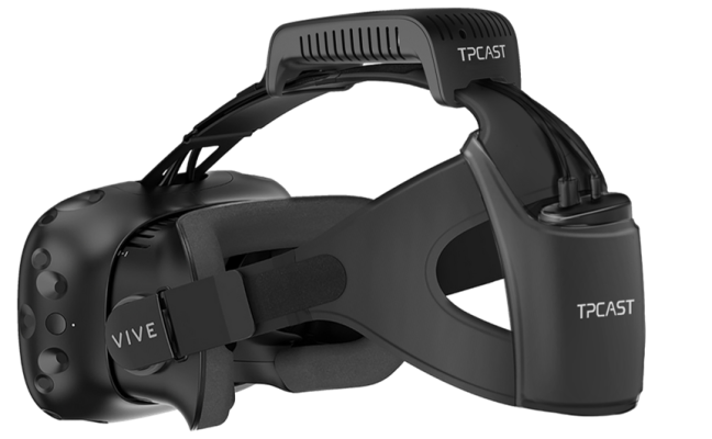 TPCast unveils adapter to allow a number of wi-fi HTC Vive VR headsets 1