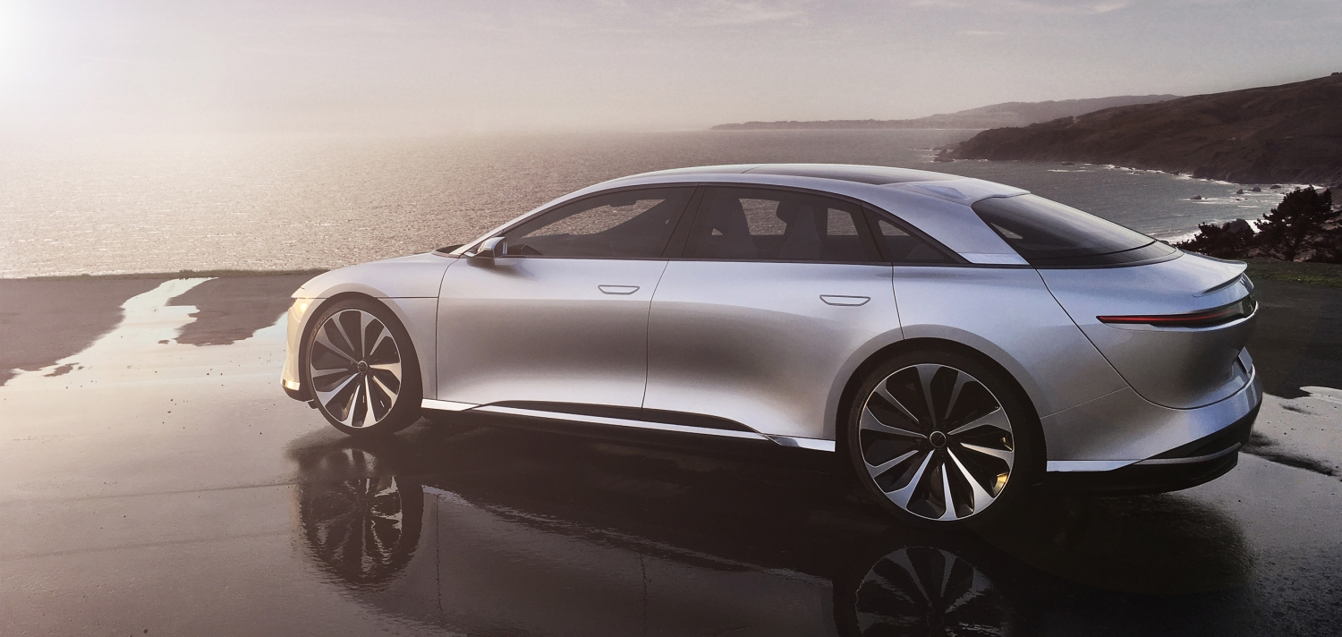 Lucid Motors Unveils The Air A New Luxe Electric Car With A 400