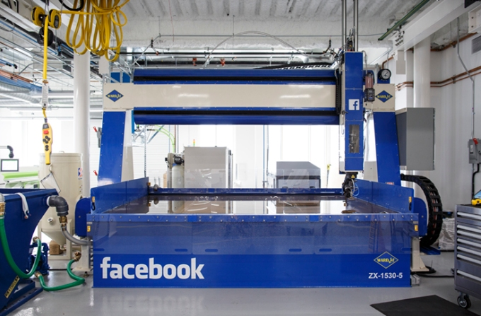 Facebook has its own hardware development facility in its Menlo Park campus' Area 404