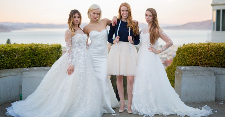 Anomalie cuts the insane markups out of custom wedding dresses ...