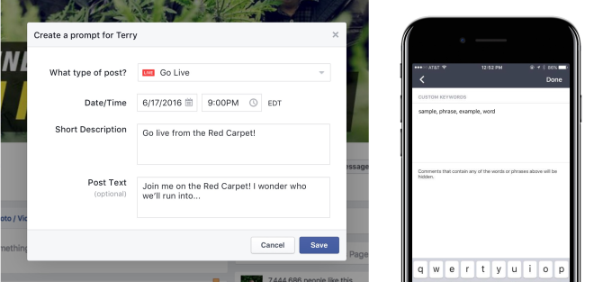 facebook-live-drafts-prompts-and-comment-blocklists