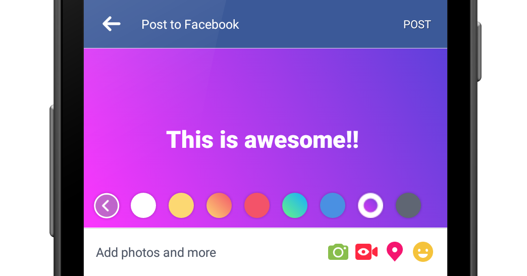messenger gradient color update apk