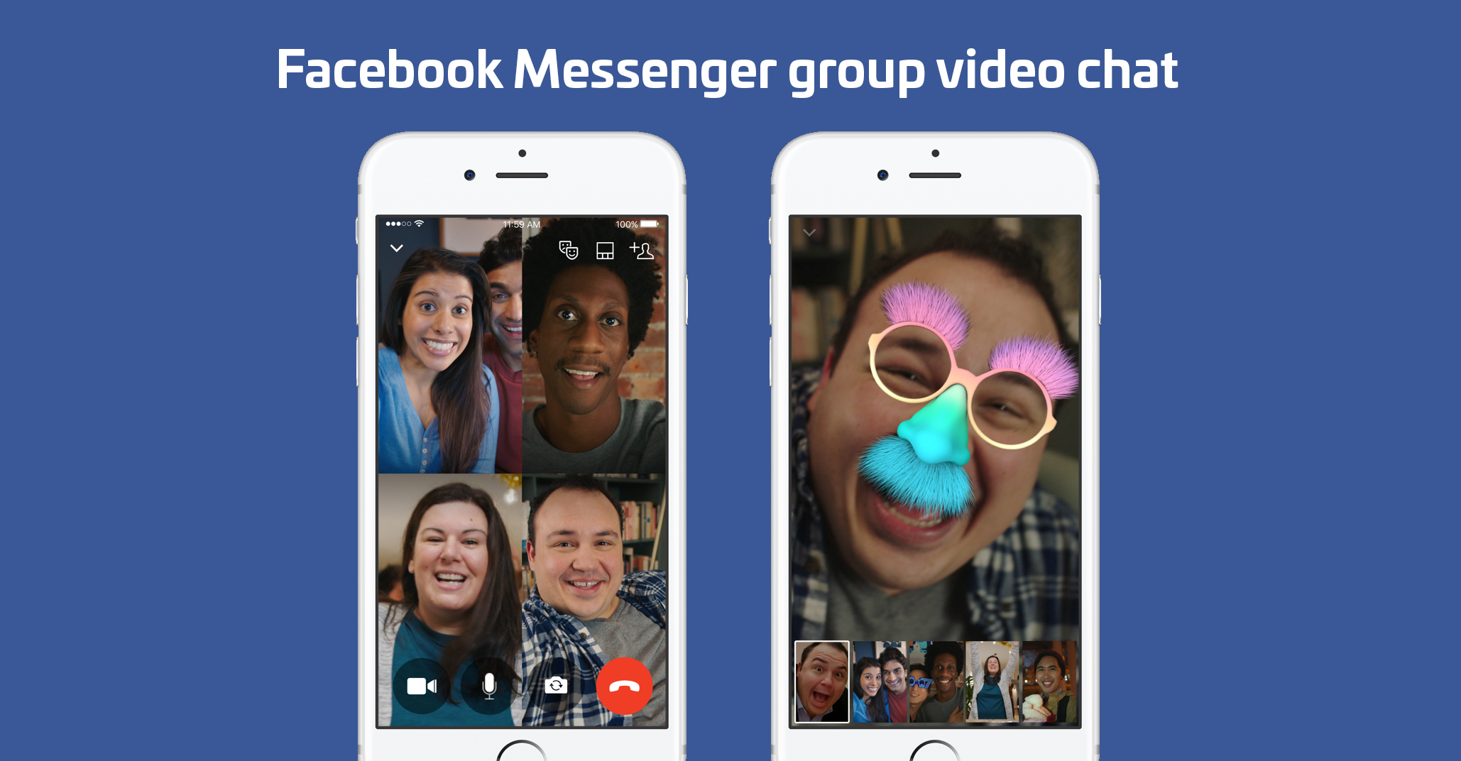 how to use facebook messenger video chat on laptop