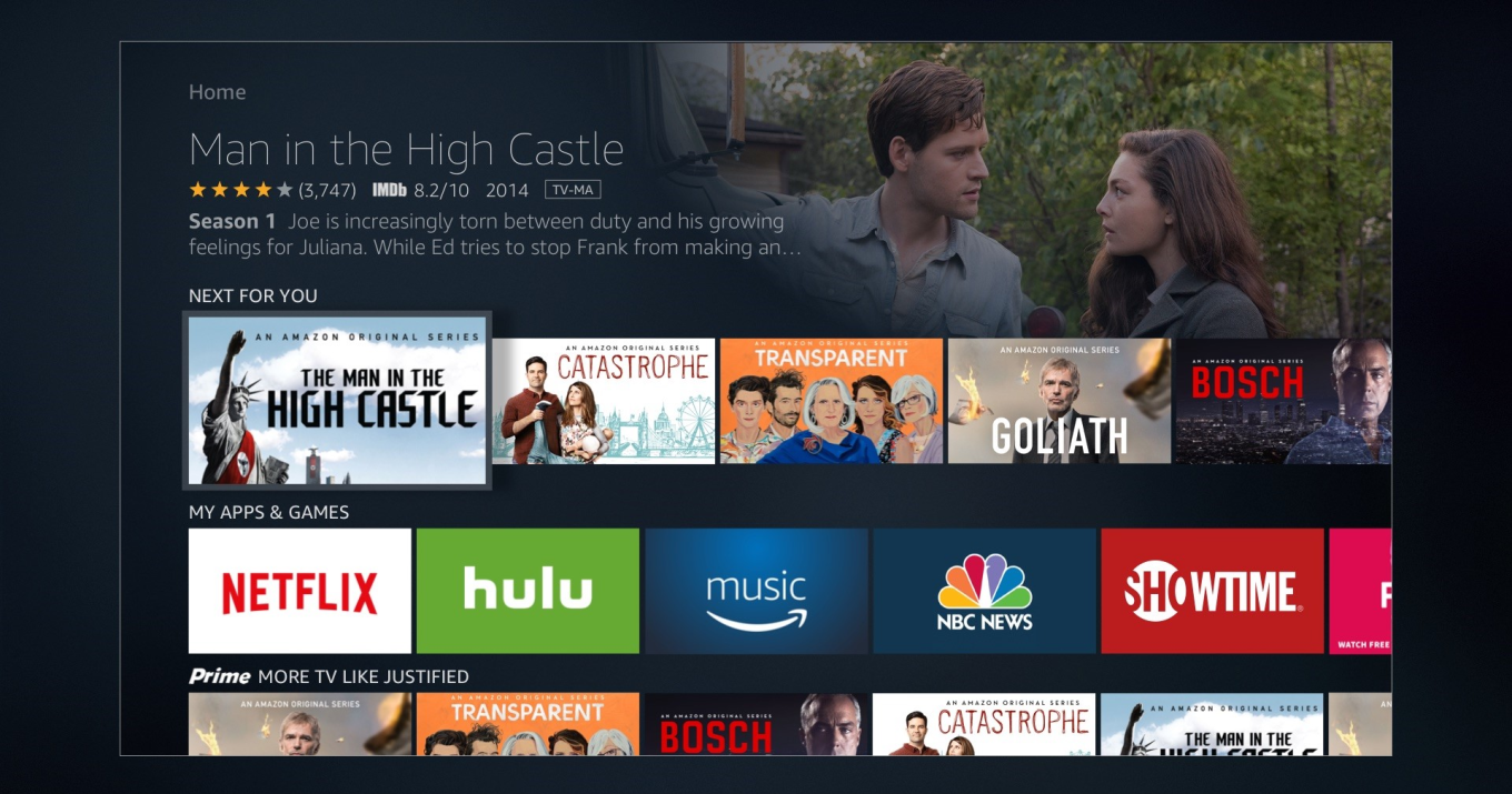 Amazon Fire TV code hints at plans for single sign-on