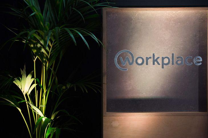 Wokplace by Facebook logo.