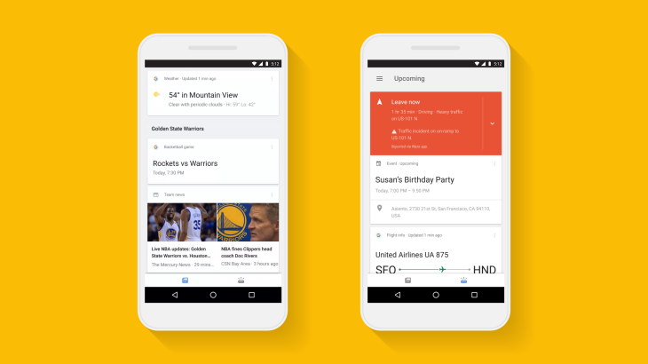 Google updates its search app, makes your personalized feed the main