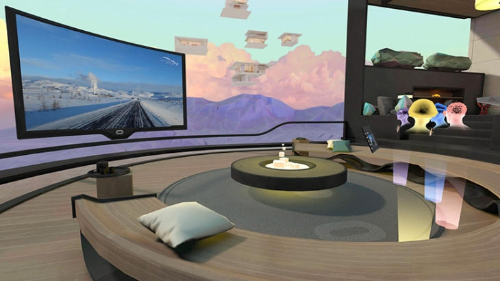 "Oculus launches social VR hangout ""Rooms"" and phone calls 
