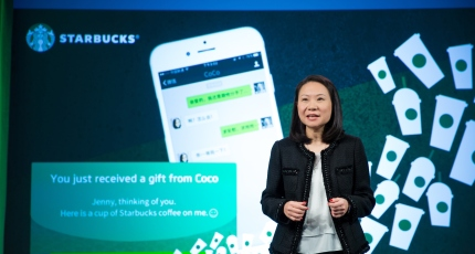 WeChat users in China can now gift friends a Starbucks coffee via
