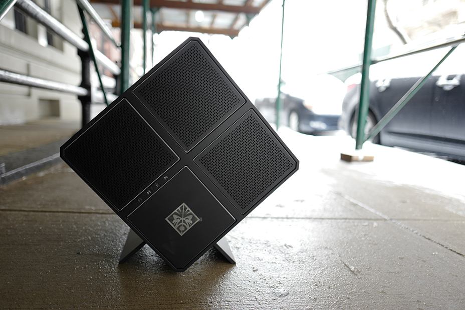 HP's OMEN X is a powerful and mostly satisfying gaming cube