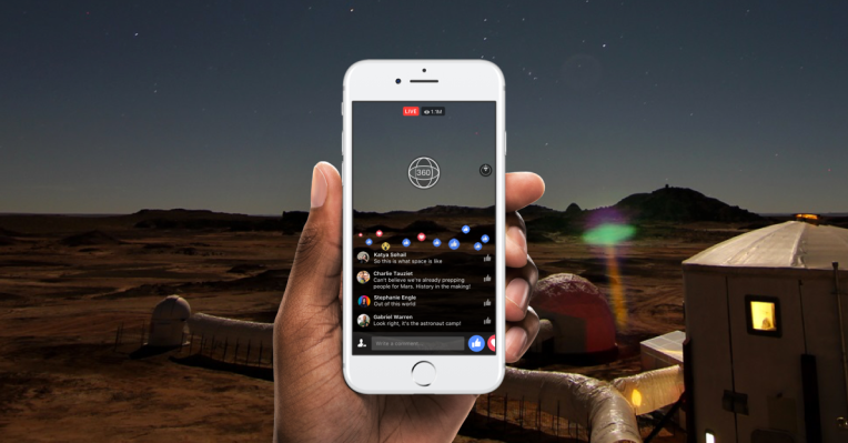 Facebook launches Live 360 video from NatGeo now, everyone next year
