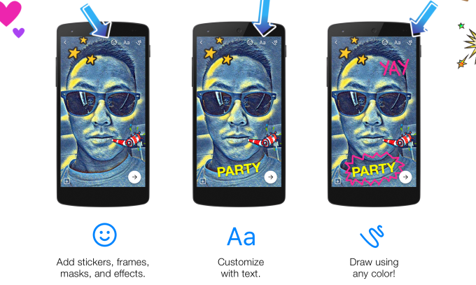 Facebook Messenger's artsy new camera turns any text into