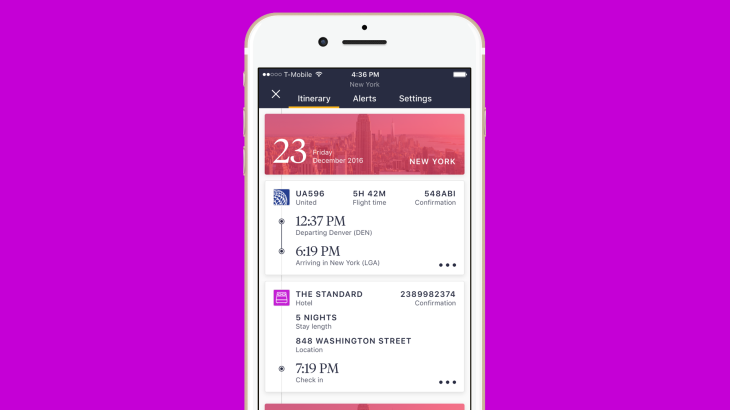 Pana's travel companion app goes free, can automatically