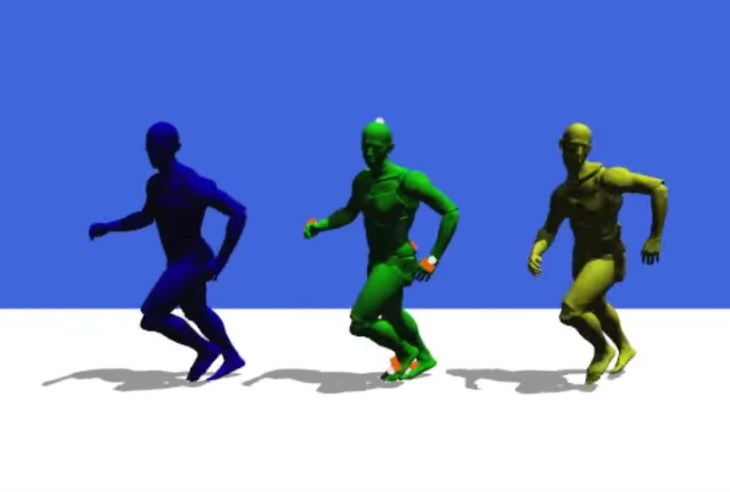 Real-time motion capture system from Disney Research uses as